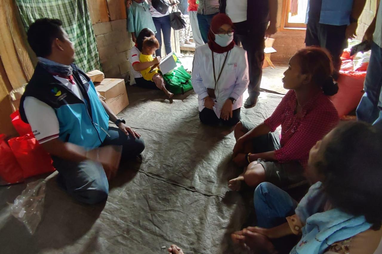 Respon Cepat Tragedi Lembantongoa,  Kemensos Salurkan Bantuan Rp458.4 Juta
