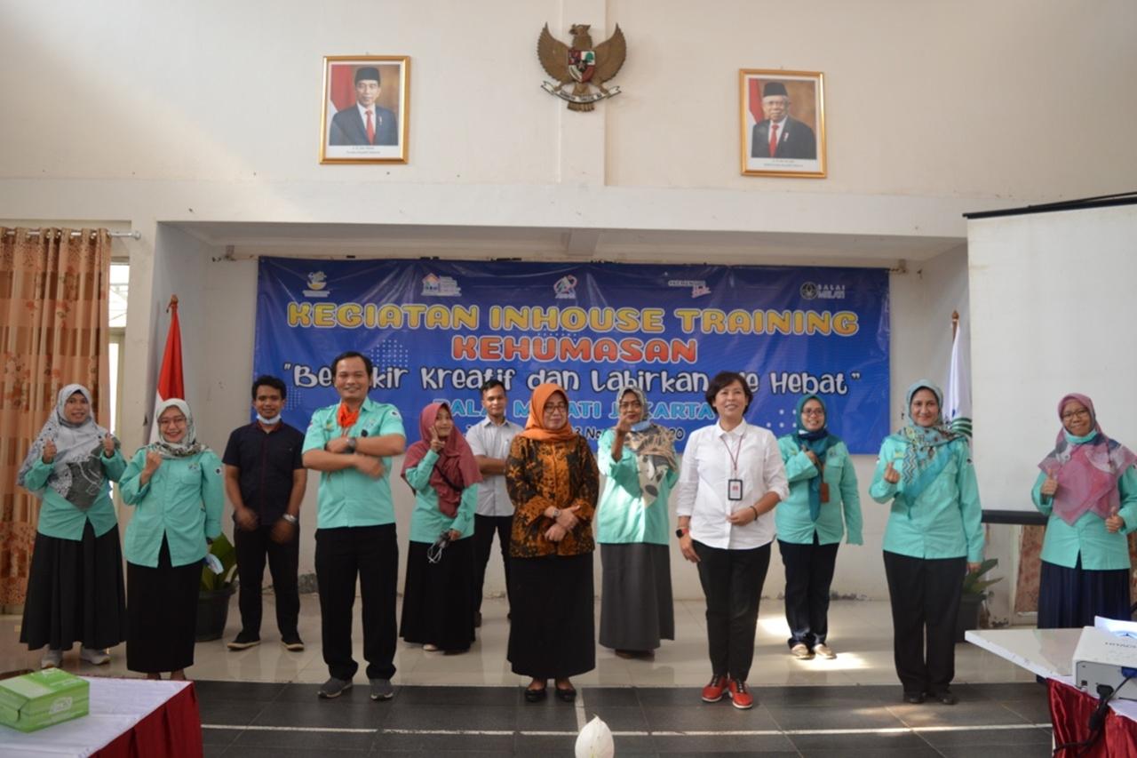 "Pelatihan Kehumasan Balai ""Melati"" Jakarta: Berpikir Kreatif dan Lahirkan Ide Hebat"