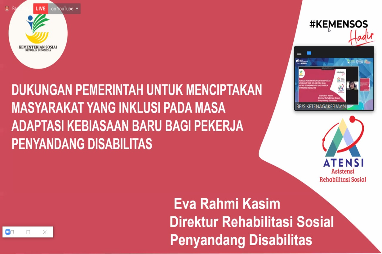 Masih Minim Partisipasi Kerja Penyandang Disabilitas di Sektor Formal