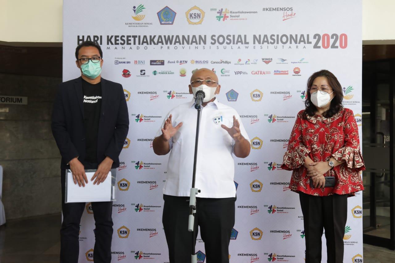 HKSN 2020 Siap Digelar, Mengusung Tema 'Kesetiakawanan Sosial Melawan COVID-19'