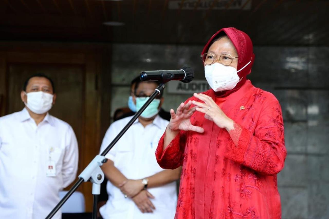 Mulai Senin, Mensos Risma Siap Berkantor di Jakarta