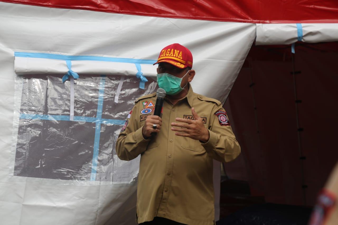Kemensos Gelar Apel Kesiapsiagaan dan Serahkan Sarana-Prasana untuk Antisipasi Dampak La Nina di DKI Jakarta