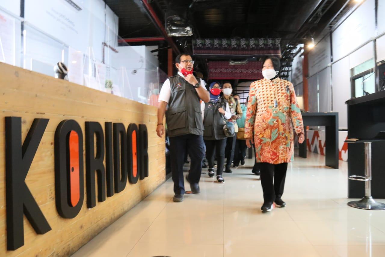 Fokus Kembangkan Layanan Rehabilitasi Sosial Kemensos, Mensos Risma Napak Tilas Layanan Sosial di Kota Surabaya