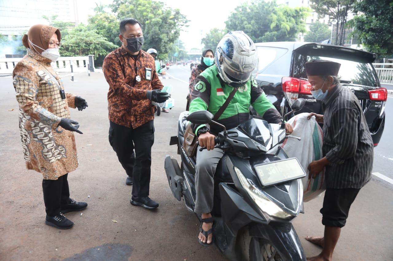 Mensos Risma Temui PPKS di Sudut Jakarta Selatan