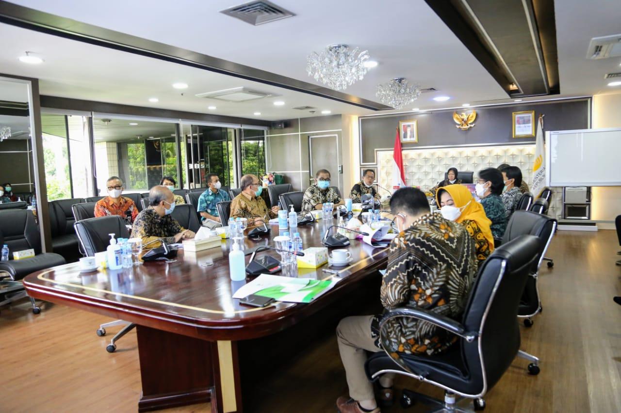 Mensos Pimpin Rapat Bersama BP3S