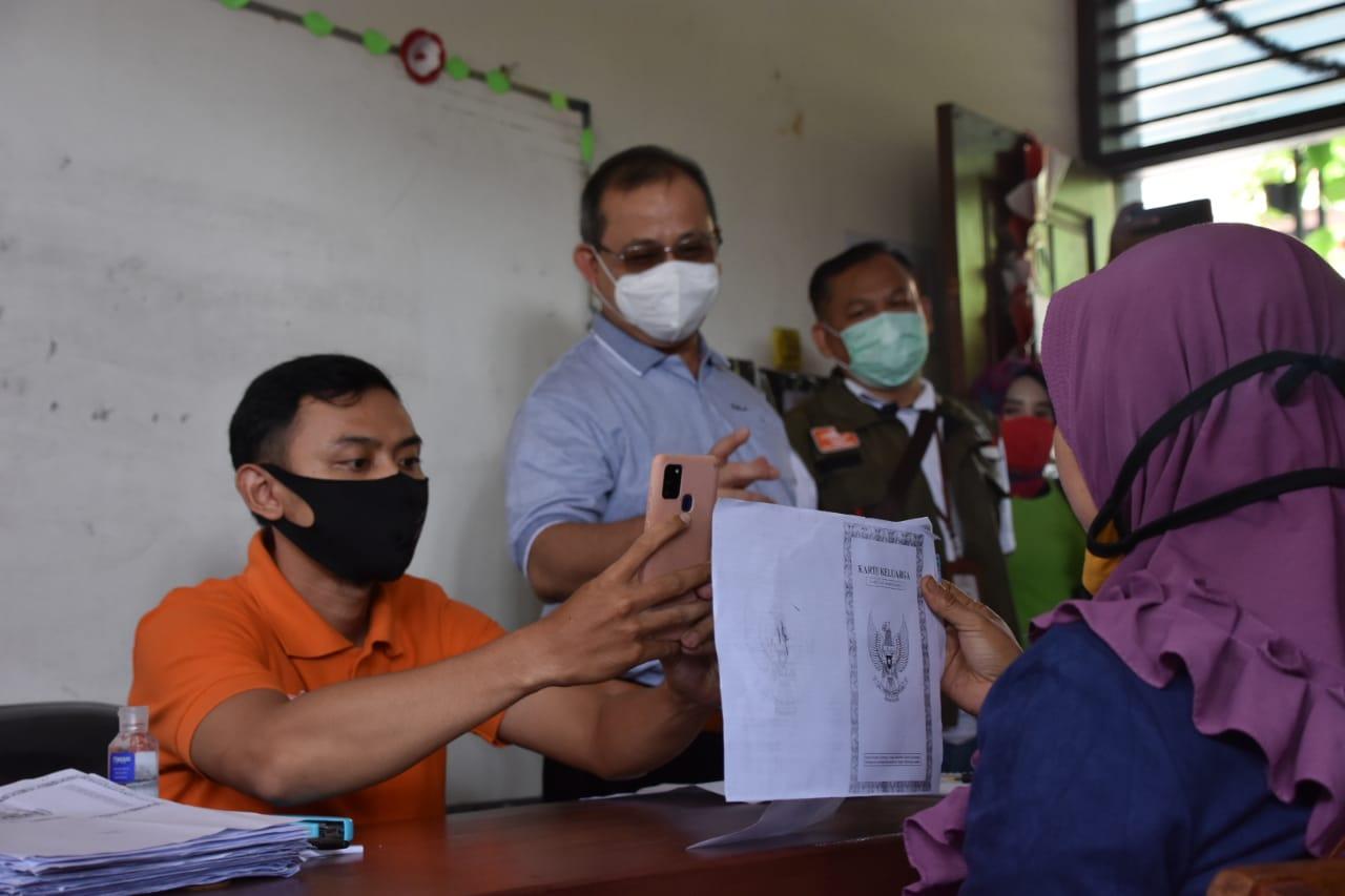 Lakukan Monitoring BST di Kota Tangerang, Dirjen PFM Pastikan KPM Terima Haknya