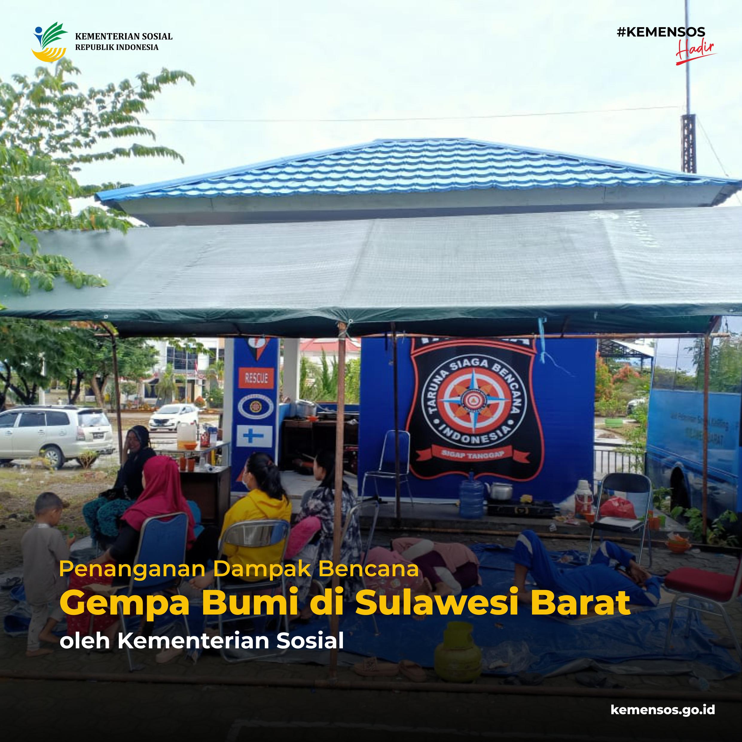 Penanganan Dampak Bencana Gempa Bumi Sulawesi Barat