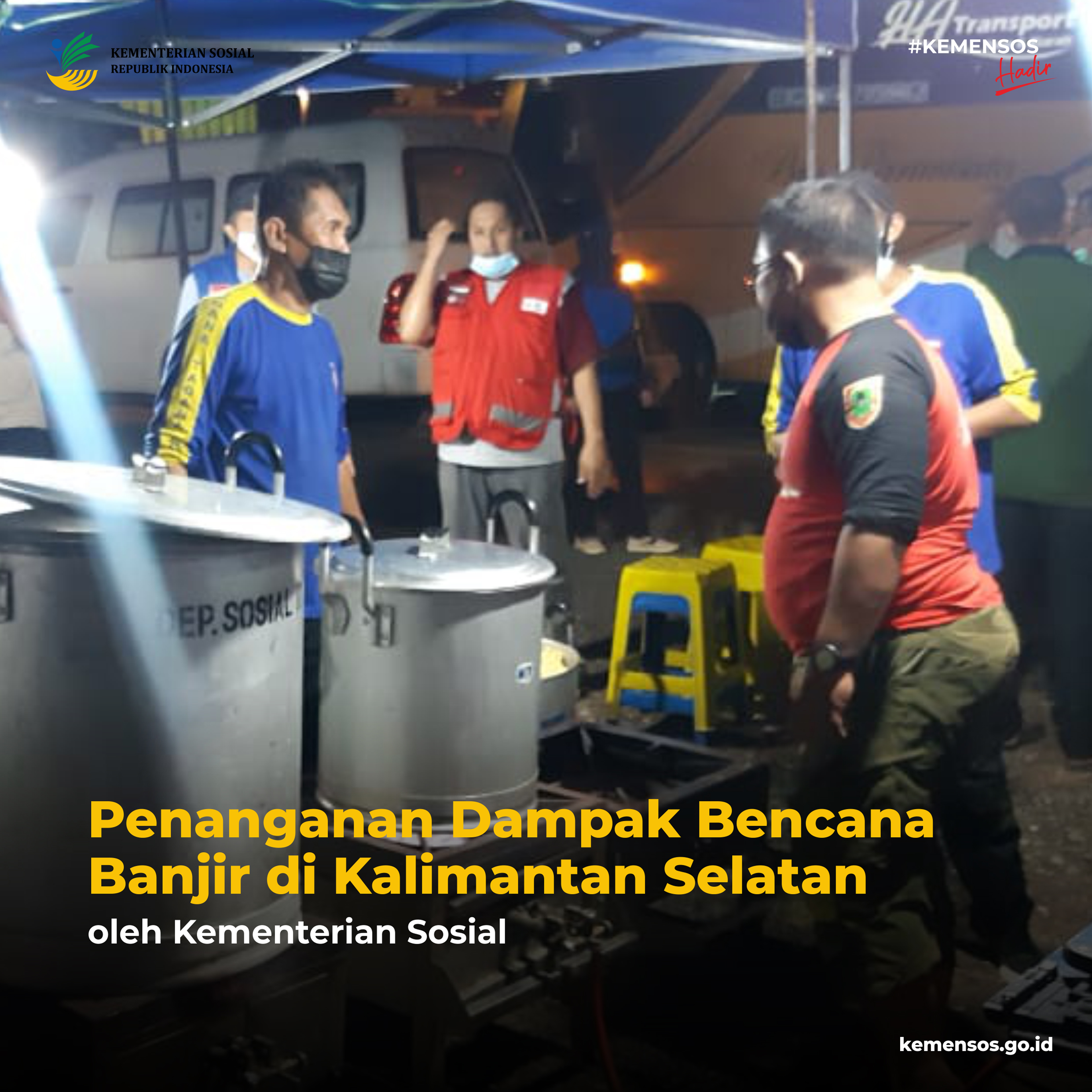 Penanganan Dampak Bencana Banjir di Kalimantan Selatan