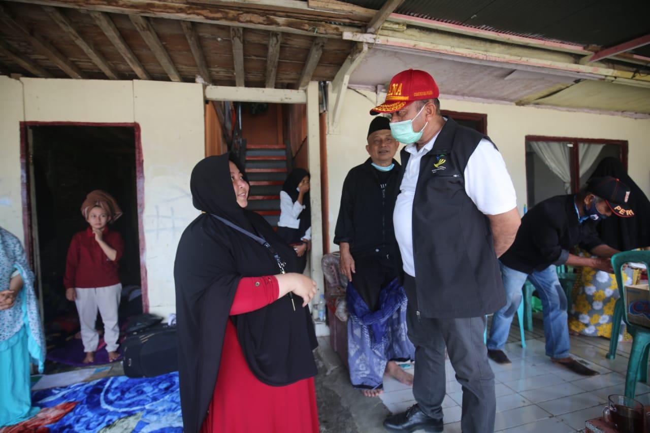 'Daeng Bolong', Si Murah Hati di Tengah Pengungsi Sulbar