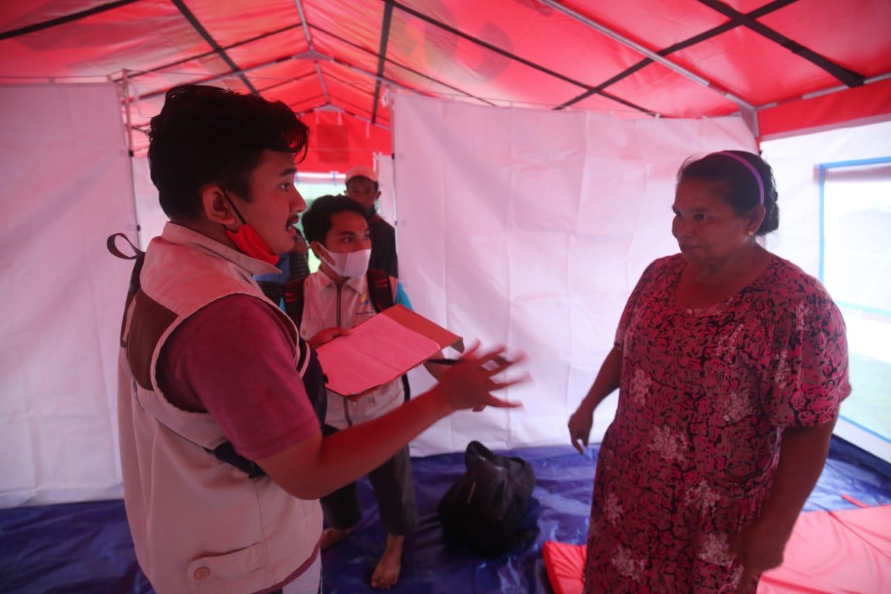 Sinergitas SDM PKH, Tagana dan TKSK dalam Penanganan Pasca Gempa Sulbar