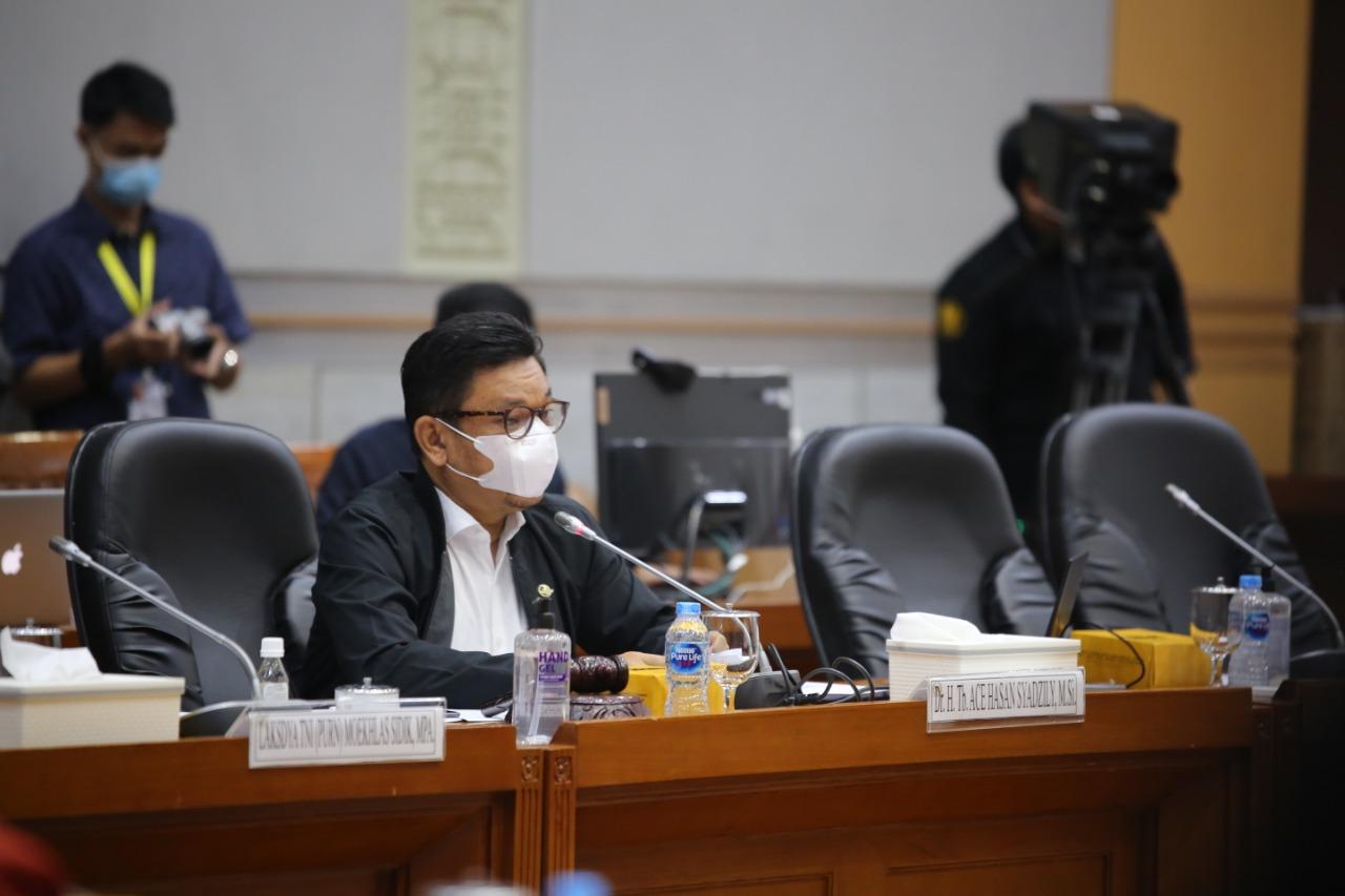 Rapat Awal Pembahasan DIM RUU PB bersama Komisi VIII DPR RI