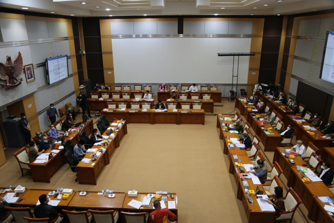 Rapat Awal Pembahasan RUU PB bersama Komisi VIII DPR RI