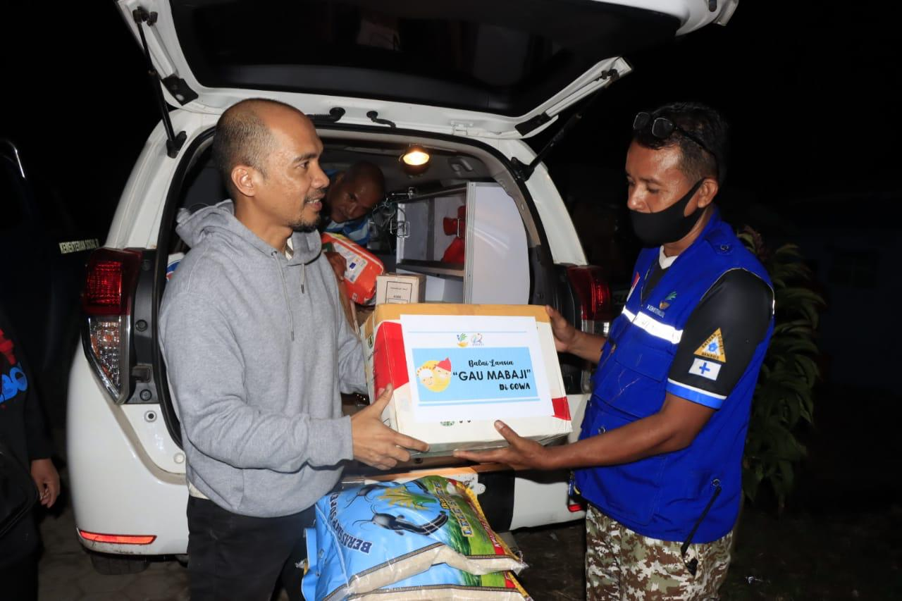 """Tanggap Darurat Gempa, Balai Lansia """"Gau Mabaji"""" di Gowa Terjun ke Ke Majene & Mamuju"""
