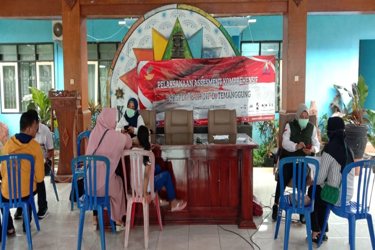 Comprehensive Assessment of ATENSI Ministry of Social Affairs in Malang Area