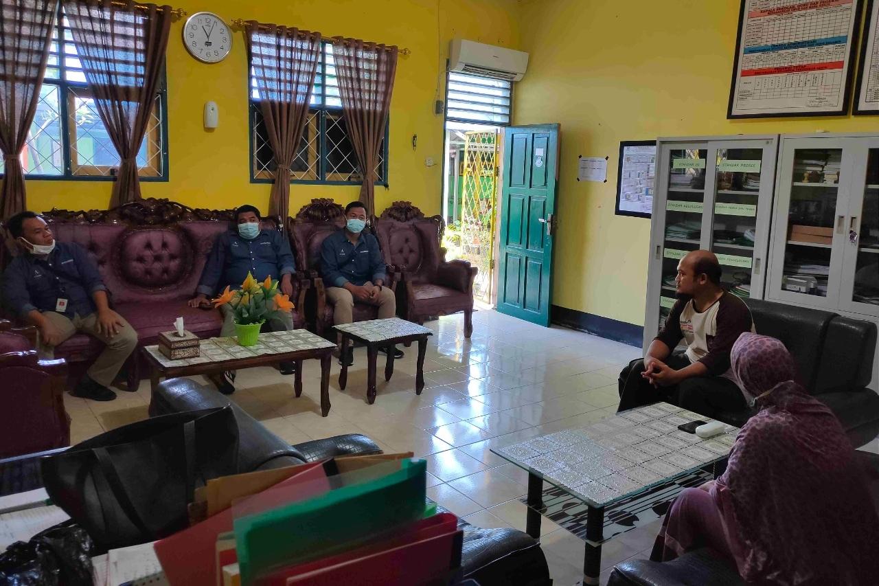 "Balai ""Nipotowe"" Strengthens Coordination with LKS in Palu City"