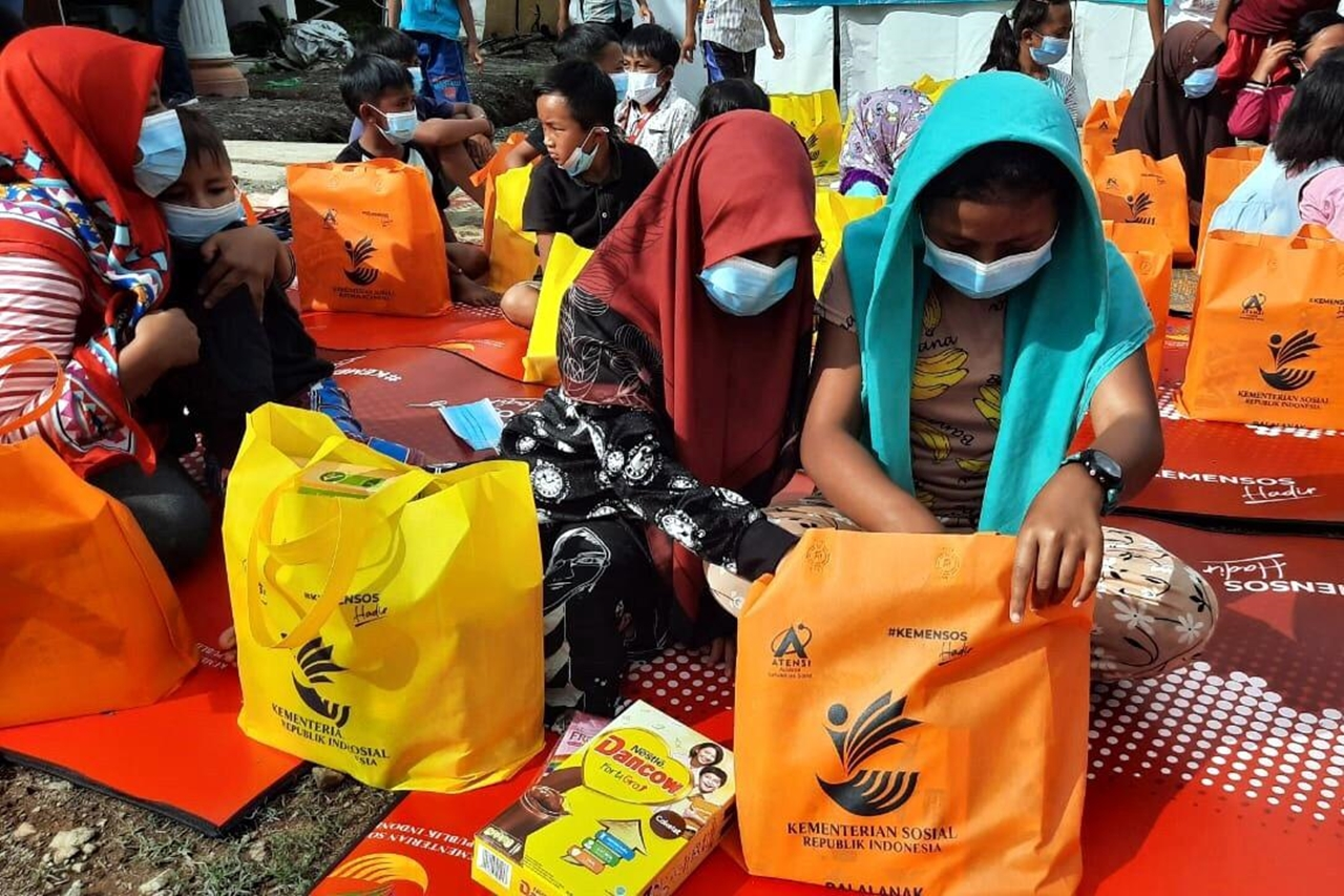 "Children's Center ""Antasena"" Provides Assistance for 88 Child Victims of the Eruption of Merapi"