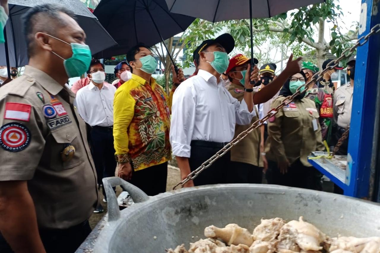 Tindaklanjuti Kunjungan Presiden, Menko PMK Kaji Sebab Banjir Kalsel