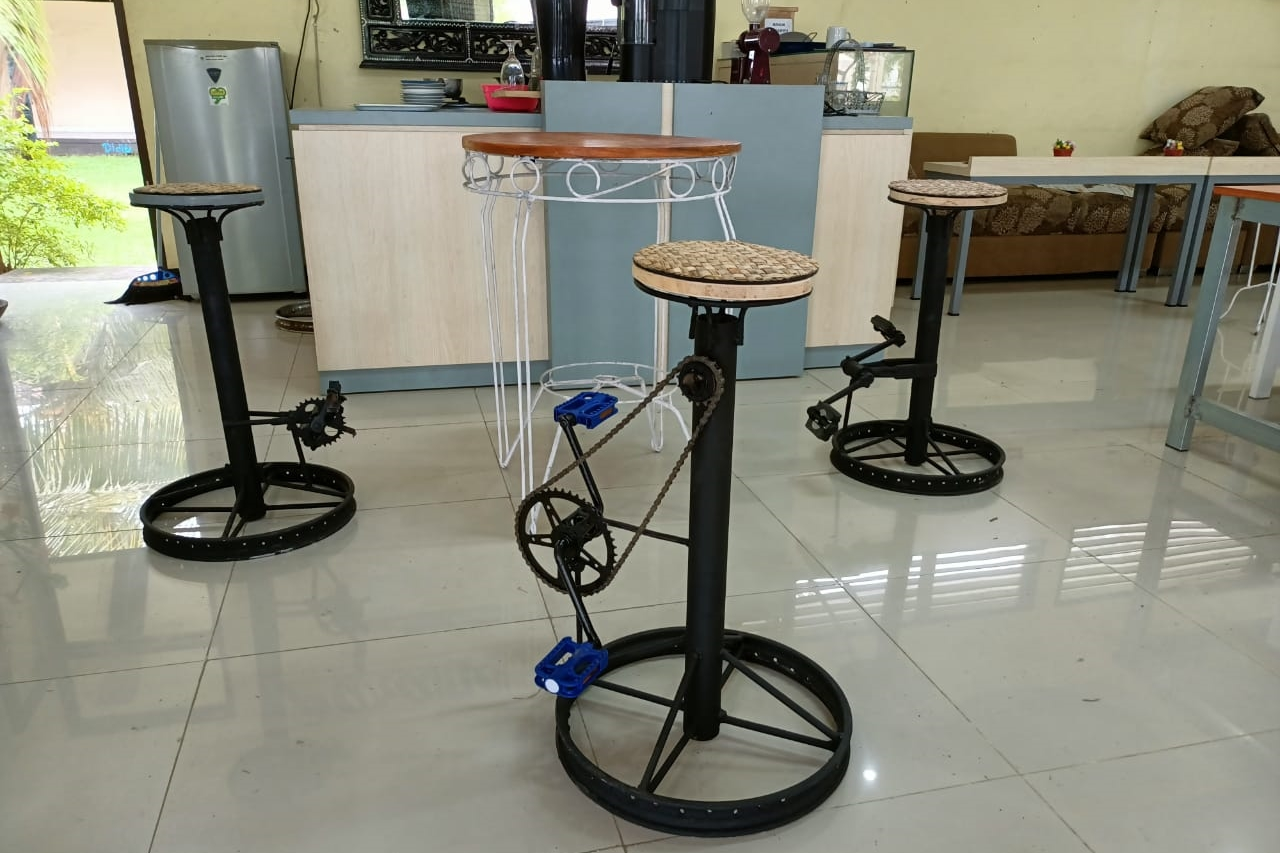 """Inovasi Kursi Sepeda 'Ngober' Penerima Manfaat Balai Anak """"Paramita"""""""