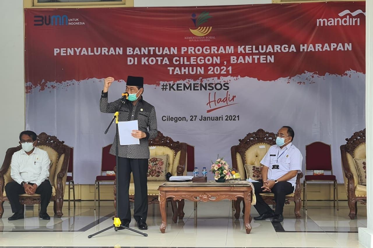 Kunsfik Komisi VIII DPR RI dalam Pemantauan Penyaluran Bansos PKH