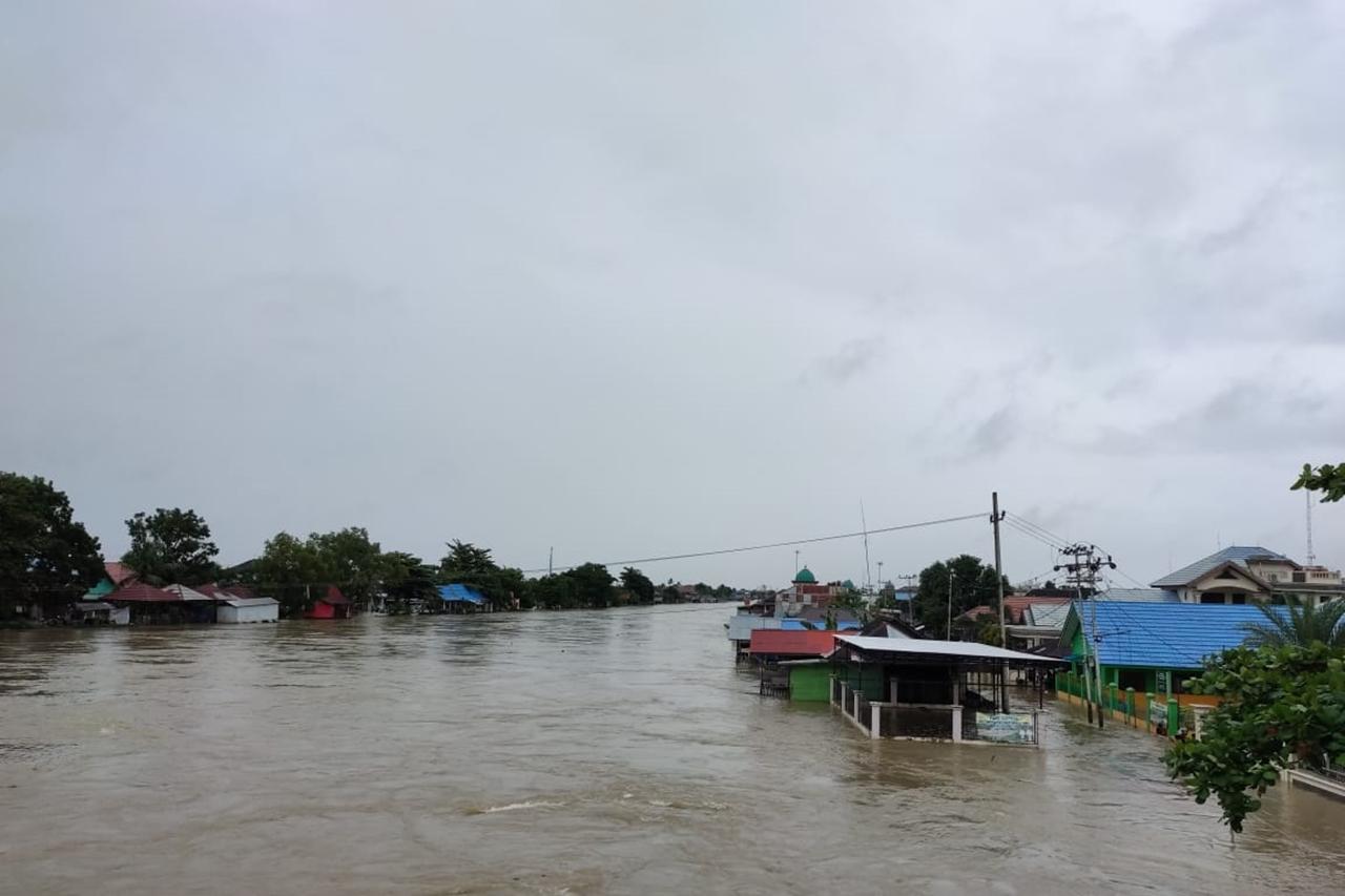 Banjir Melanda Kalsel