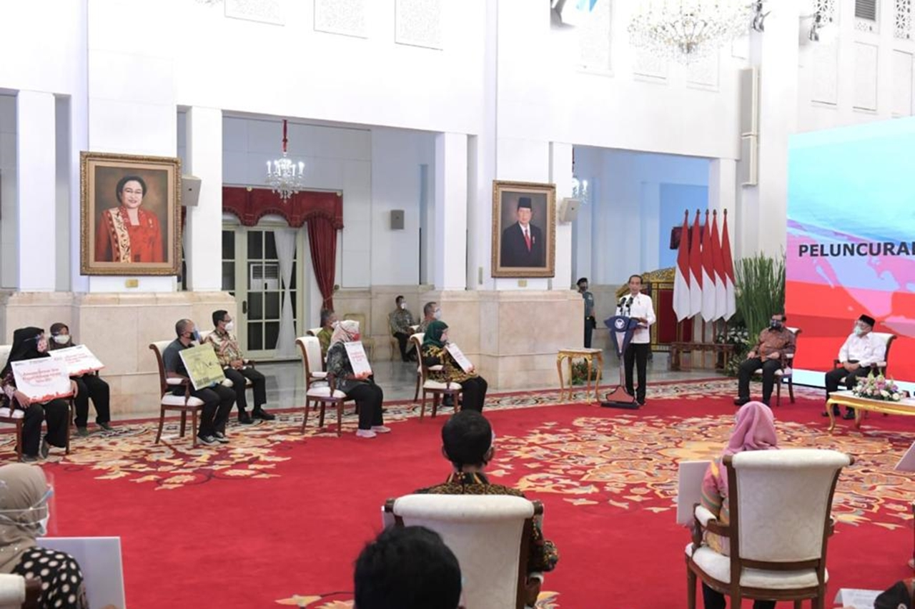 Launch of Indonesian Cash Aid in 2021