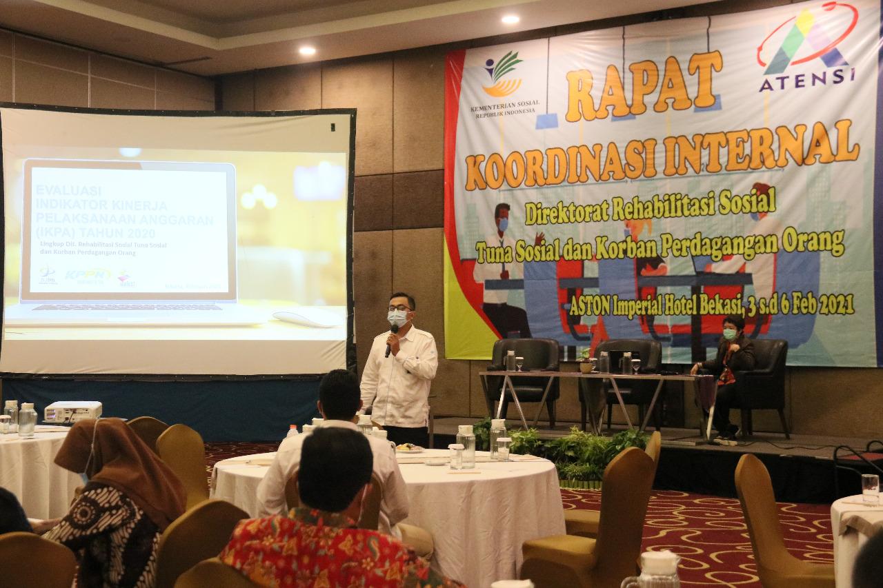 Sukseskan ATENSI, Direktorat RTS dan KPO Gelar Rapat Koordinasi Internal