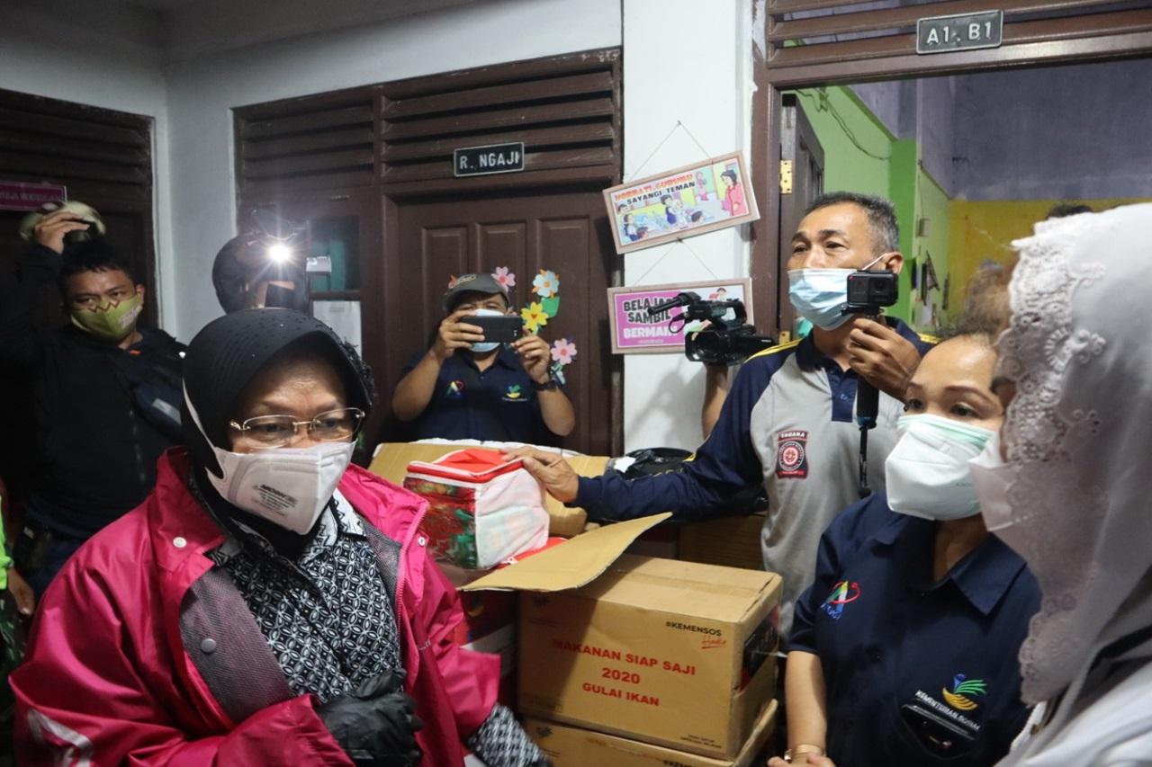 Kemensos Pastikan Korban Banjir Semarang Terlayani Kebutuhannya