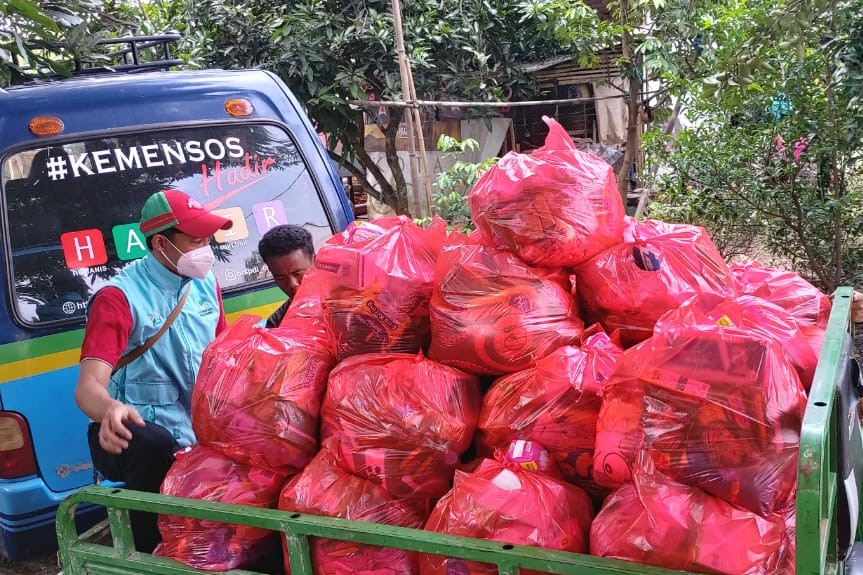 Kementerian Sosial RI Lakukan Respon Kasus Bencana Banjir Indramayu