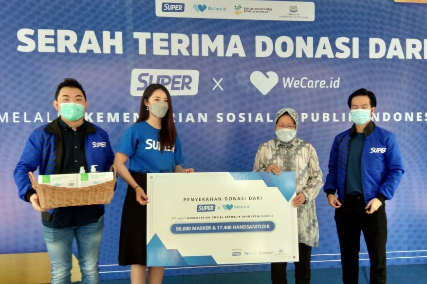 Ministry of Social Affairs Immediately Distributes Donation of Medical Supplies Worth Rp1.6 Billion
