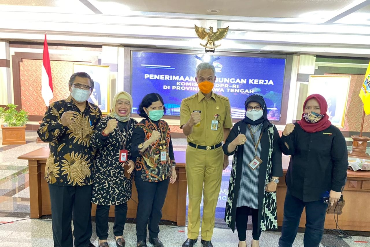 Ministry of Social Affairs and Commission VIII DPR RI Conducted a Visit to Central Java