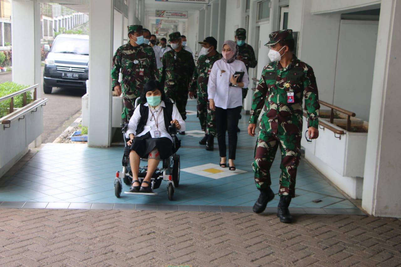 Jalin Kerja Sama, Pusrehab Kemhan Kunjungi Balai Besar Cibinong