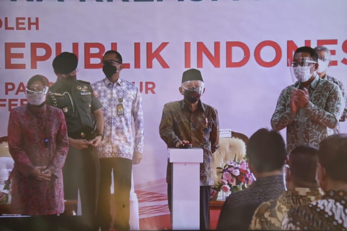 Wakil Presiden RI Resmikan Sentra Kreasi ATENSI