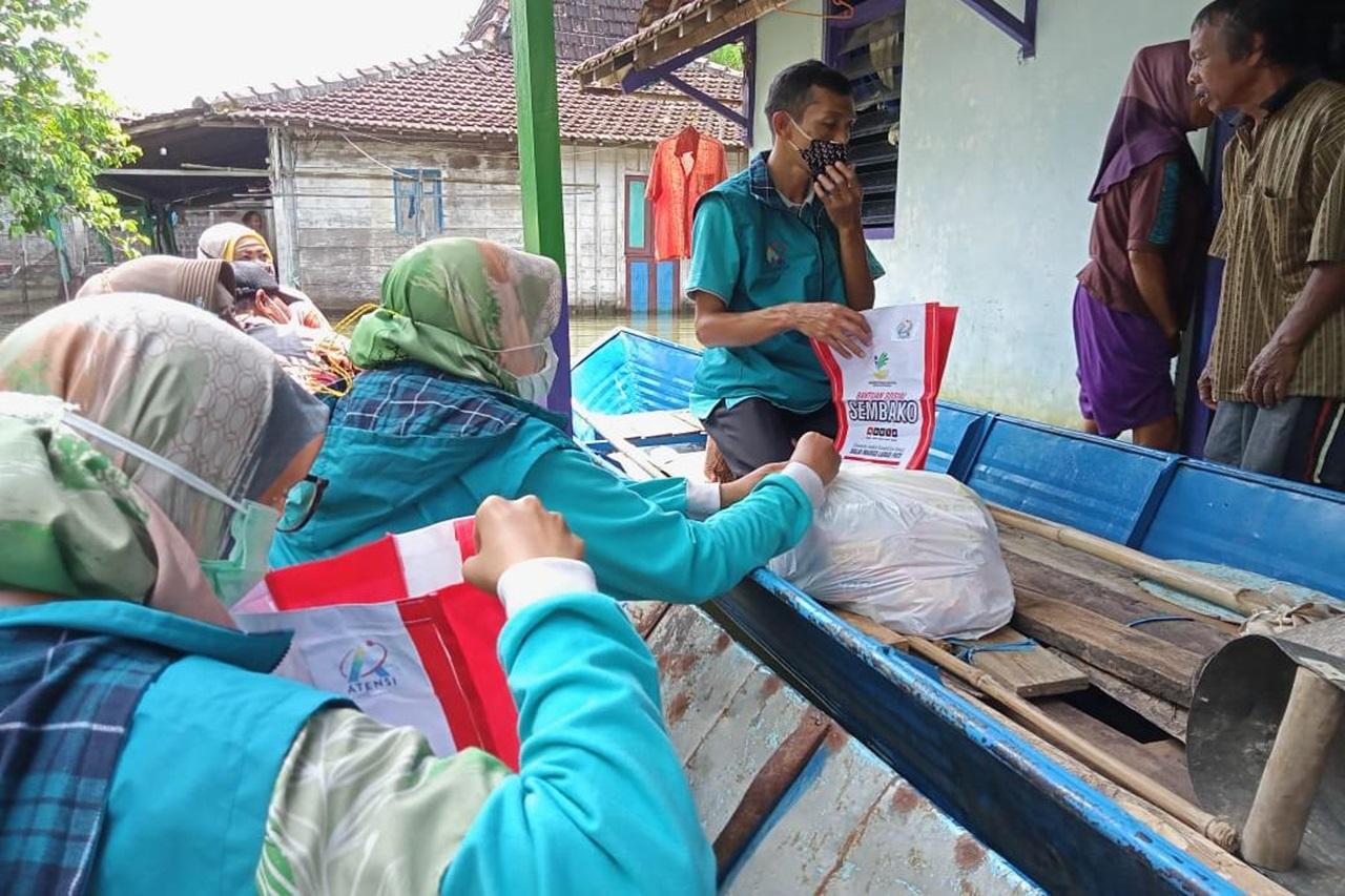 Kemensos Hadir untuk Korban Banjir Disabilitas Mental