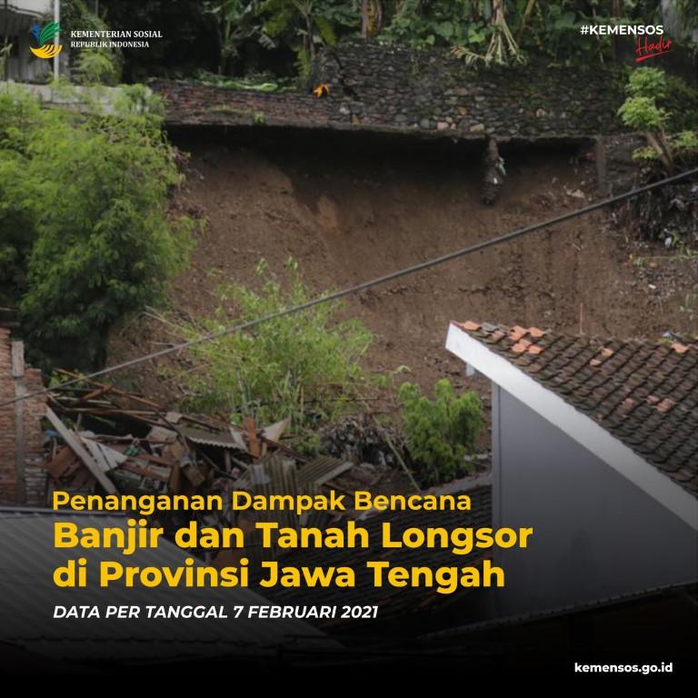 Penanganan Korban Bencana Banjir dan Tanah Longsor di Provinsi Jawa Tengah