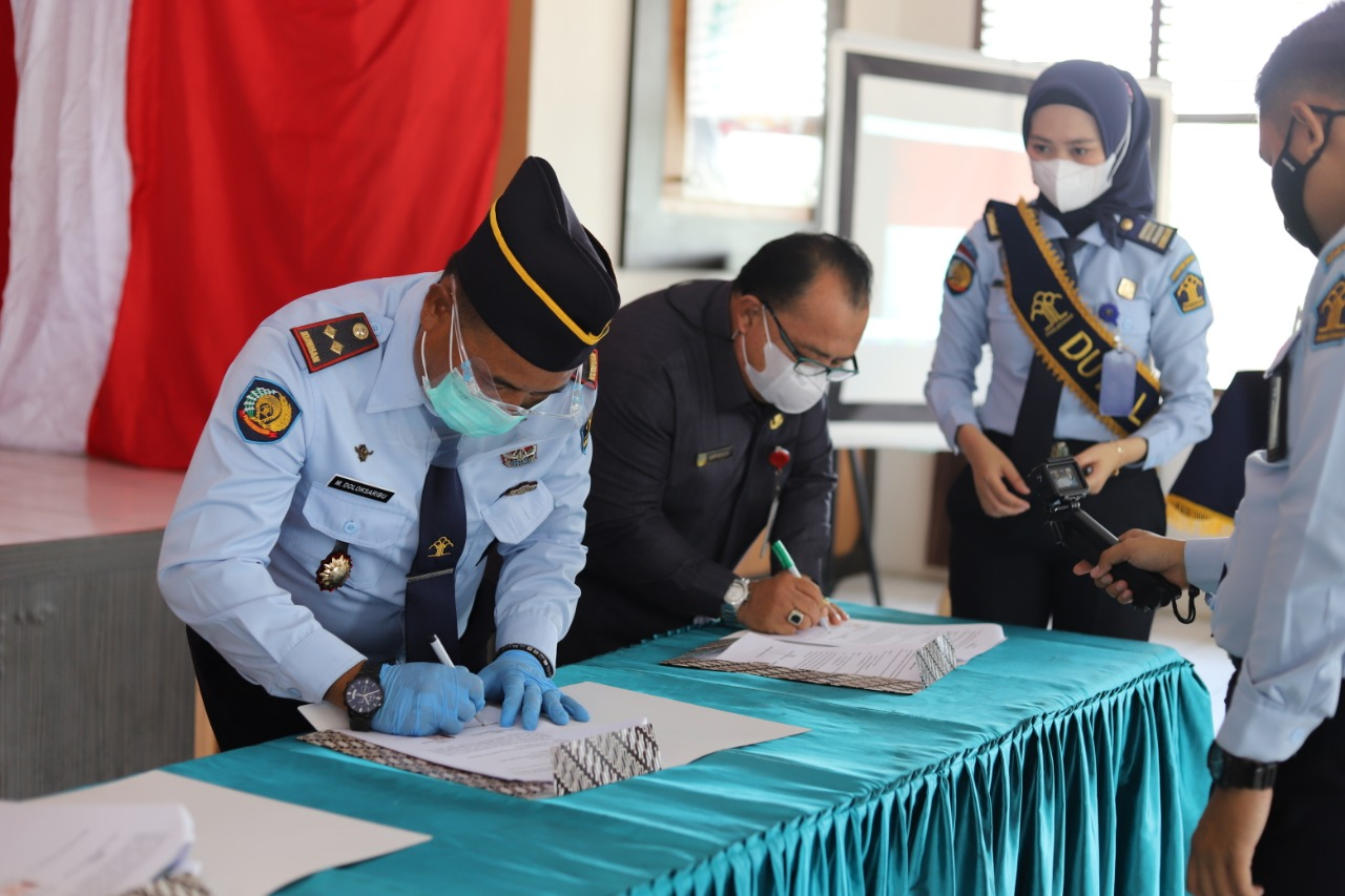 The Signing of Cooperation Agreement, Realizing the Best Inter-Agency Service