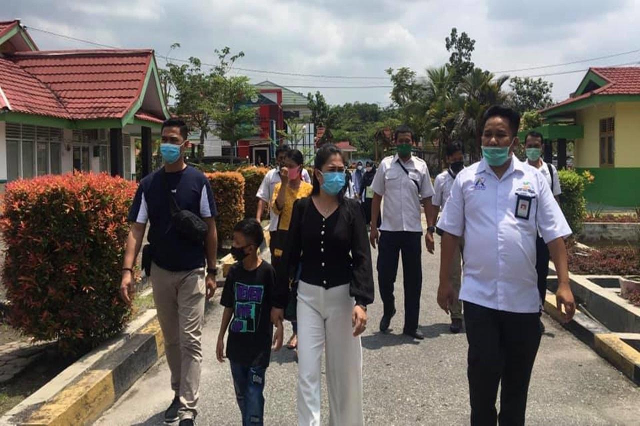 "Balai Anak ""Rumbai"" Pekanbaru Terima Rujukan Kasus Anak Viral di Pelalawan"
