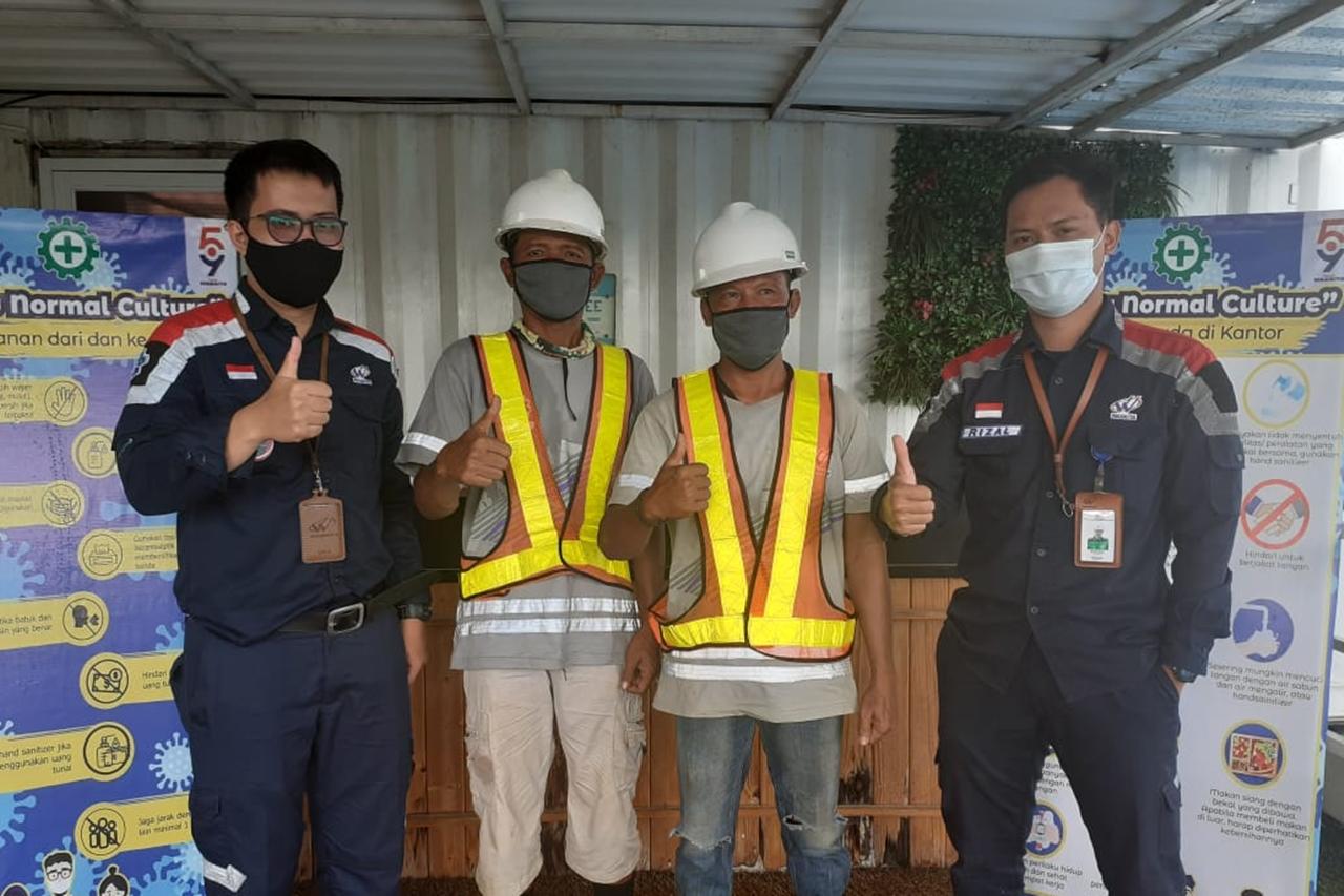Senyum Sumringah Eks Gelandangan dan Pemulung Jakarta Merajut Asa di PT Waskita Karya