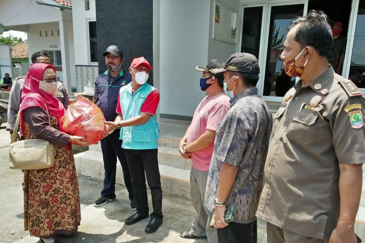 Kemensos Laksanakan Respon Kasus Bencana Banjir Karawang