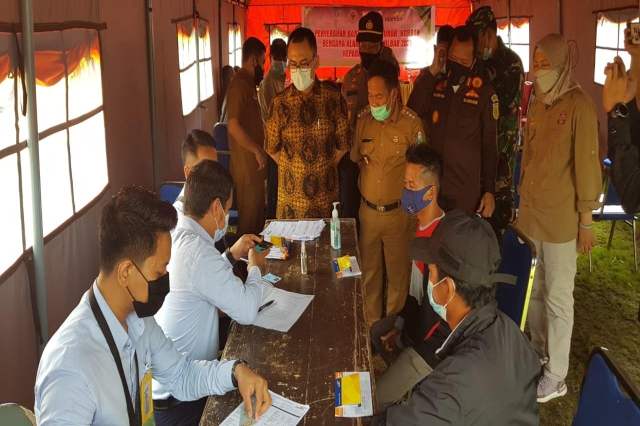 95 Ahli Waris Korban Gempa Sulbar di Kabupaten Mamuju Terima Santunan dari Kemensos
