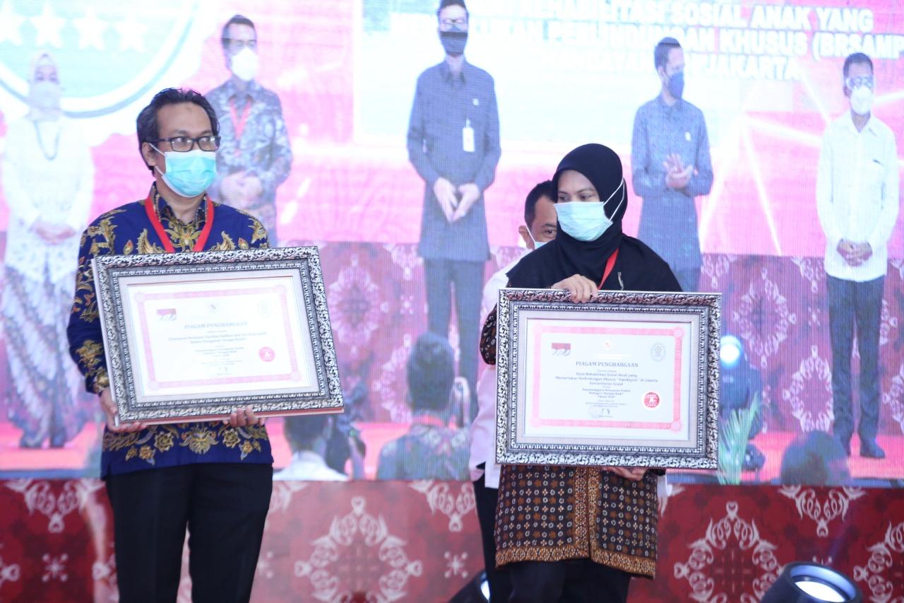 "Balai Anak ""Handayani"" Jakarta Raih Predikat Sangat Baik dalam Pelayanan Publik"