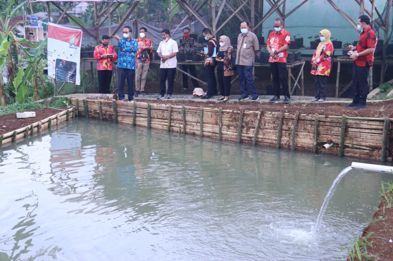 Kemensos Siap Wujudkan Sentra Kreasi ATENSI Nuansa Agrowisata di Sukabumi