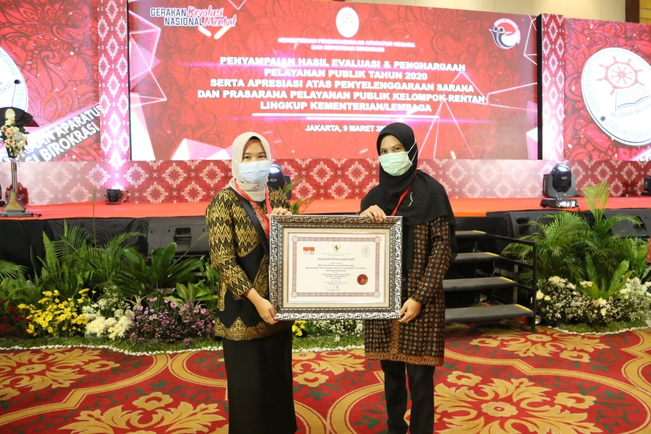 "Children's Social Rehabilitation Center ""Handayani"" Wins 'Very Good' Predicate"