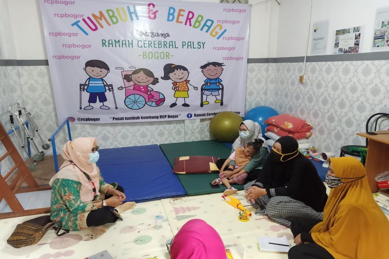 """Siapkan Pusat Okupasi Terapi, Balai """"Ciungwanara"""" Berkoordinasi dengan Rumah Autis dan Ramah Cerebral Palsy Bogor"""