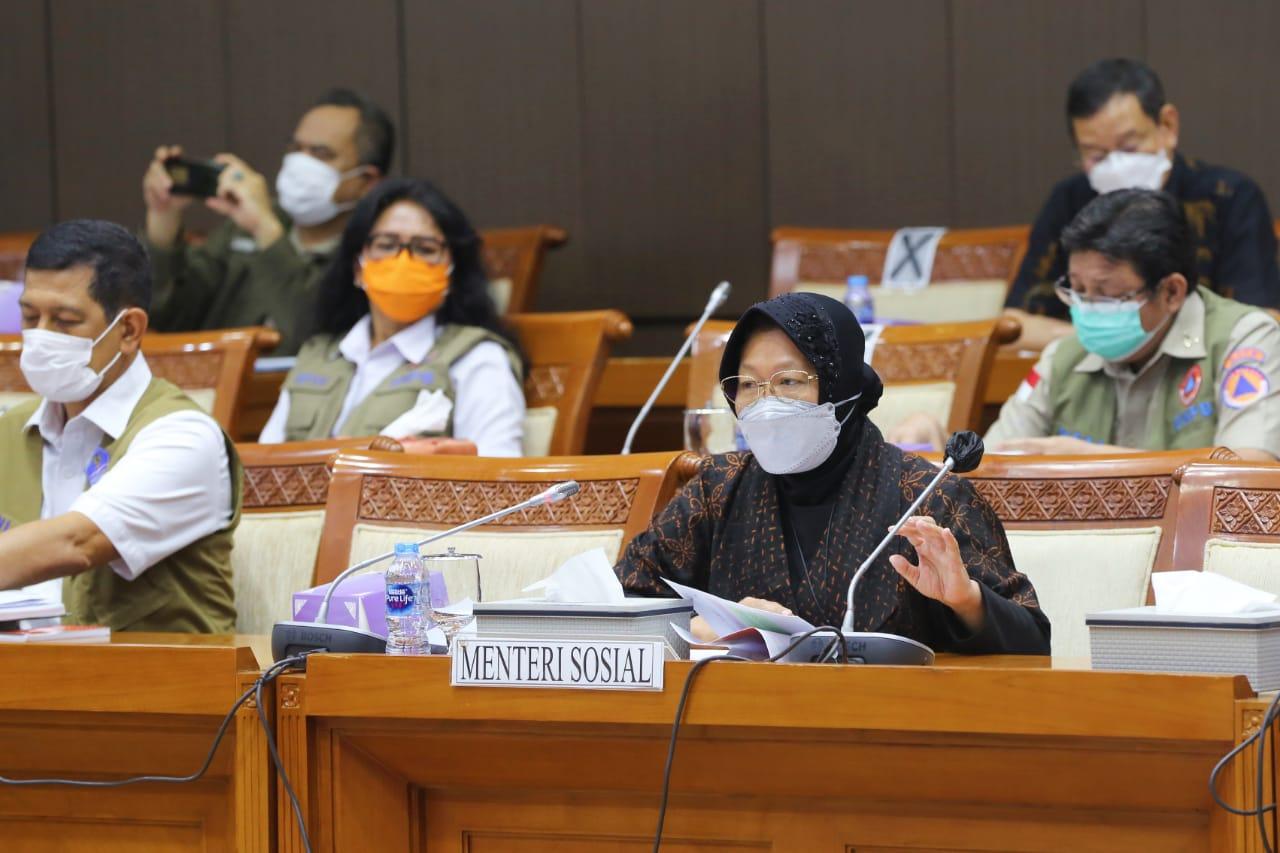 Kemensos dan Komisi VIII DPR RI Gelar Rapat Kerja Anggaran Penanggulangan Bencana