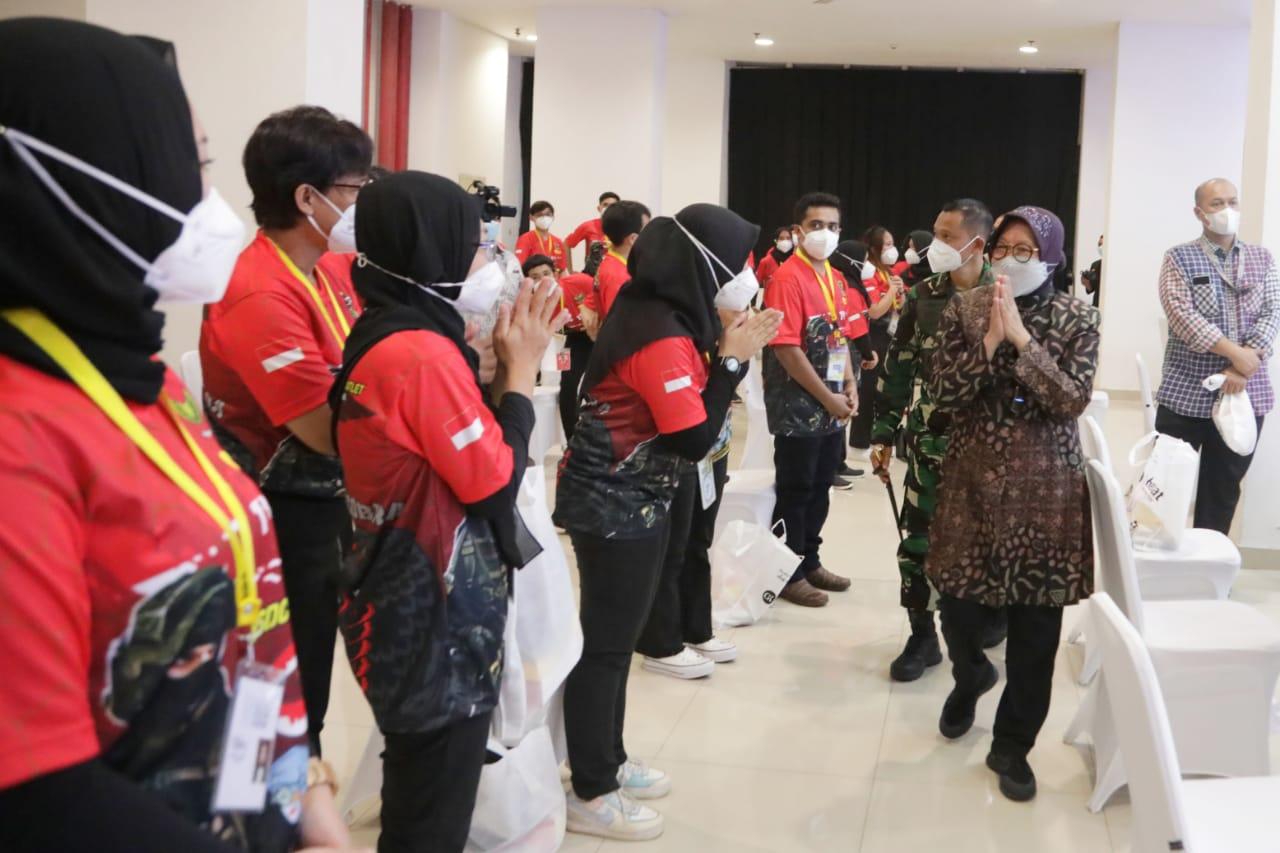 Hadiri Peringatan 1 Tahun RSDC, Mensos: Semangat Gotong Royong Satukan Tekad Lawan Covid-19