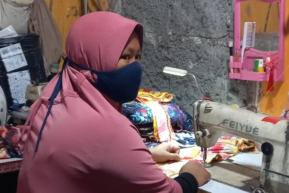 Used to be Opak Merchant, KPM PKH in Ciater Village Has Successfully Developed a Sewing Business