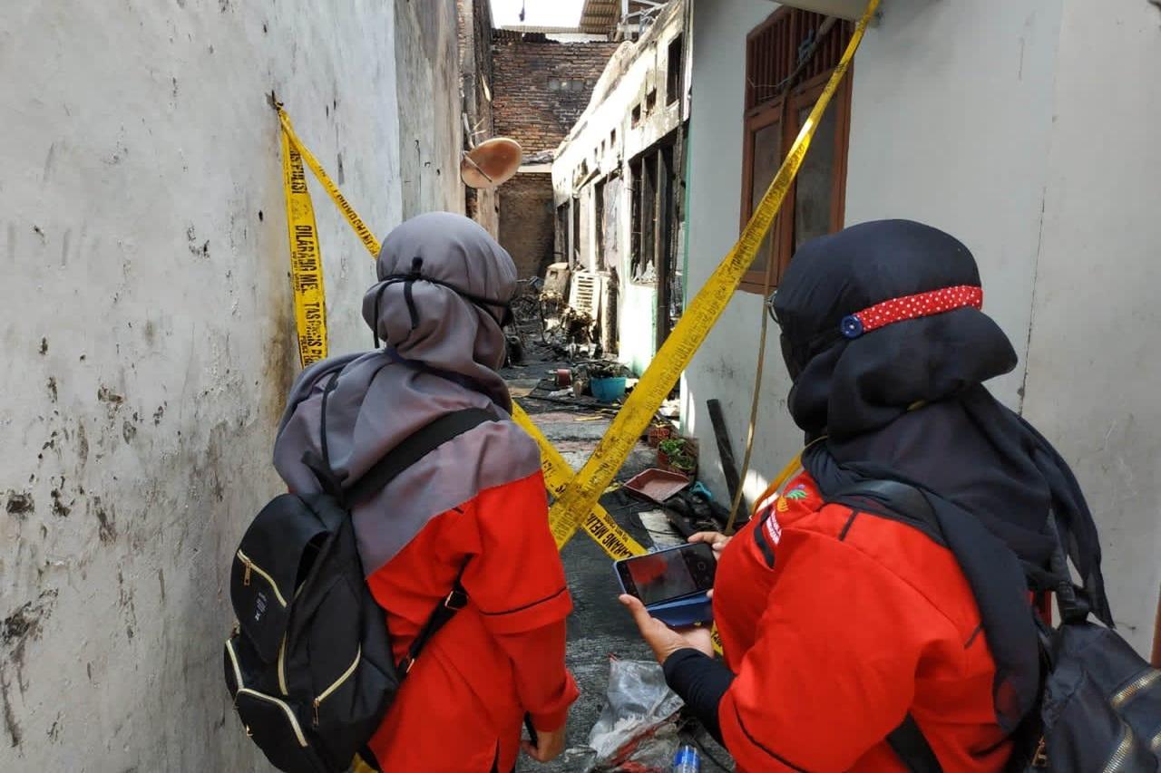 Kebakaran di Pemukiman Padat Penduduk di Matraman, Kementerian Sosial Lakukan Respon Kasus