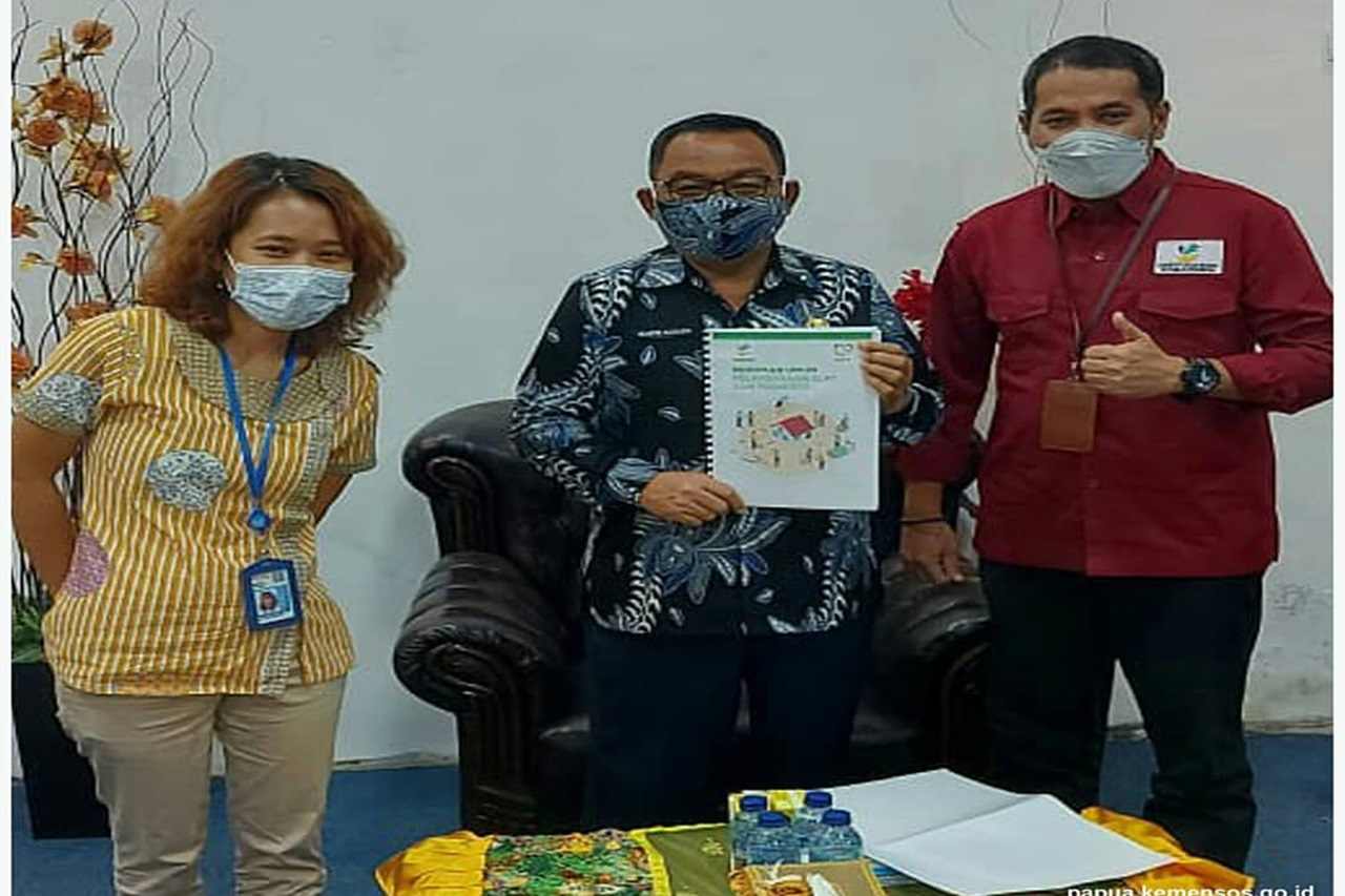 BBPPKS Jayapura Coordinates with the Regent of Keerom Papua Regency