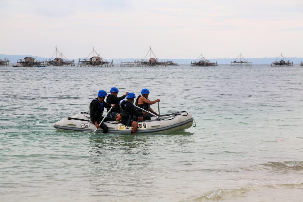 "Hadapi Ancaman ""Megathrust"", Kemensos Latih 1.000 Nelayan Pangandaran Jadi Sahabat Tagana"