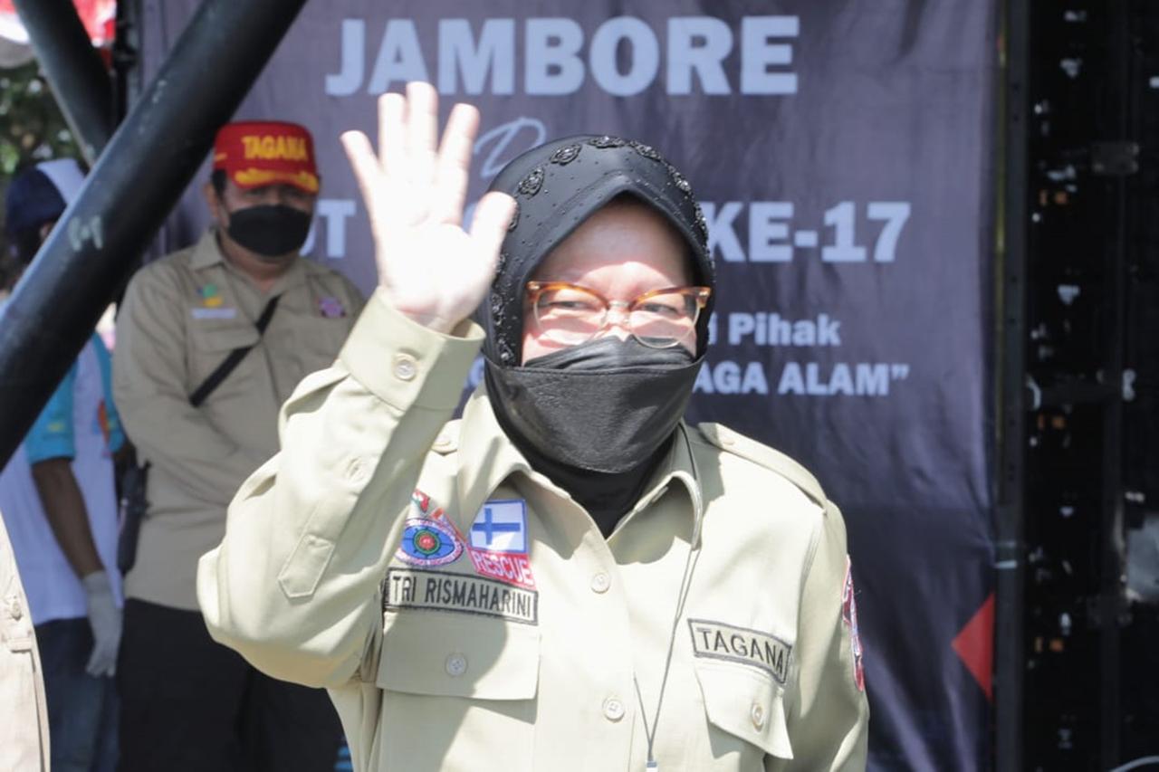 Perayaan HUT Tagana ke-17 di Pangandaran